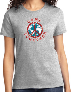 Ladies Peace T-shirt Come Together Tee