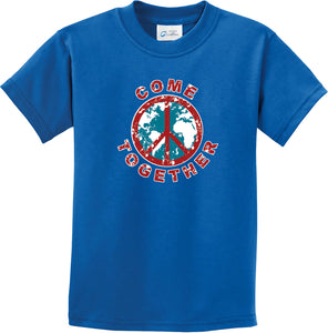 Kids Peace T-shirt Come Together Youth Tee