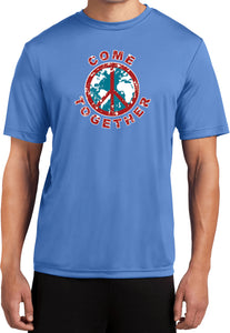Buy Cool Shirts Peace T-shirt Come Together Moisture Wicking Tee