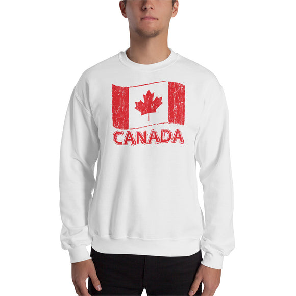 Canada Flag Men's Sweatshirt