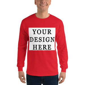 Long Sleeve T-Shirt - Customize Your Own Tee