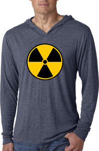 Radiation T-shirt Radioactive Fallout Symbol Lightweight Hoodie