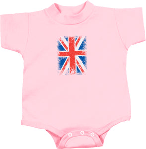 Union Jack Infant Romper Small Print