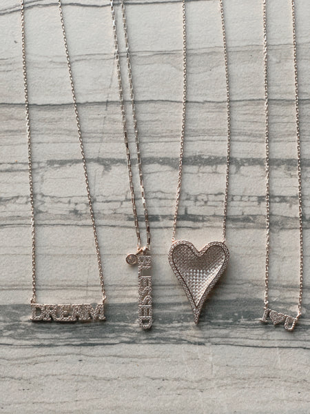 Dream Necklace (Silver) - Love Be Jewels