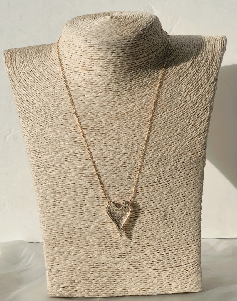 Good Heart Necklace (Gold) - Love Be Jewels