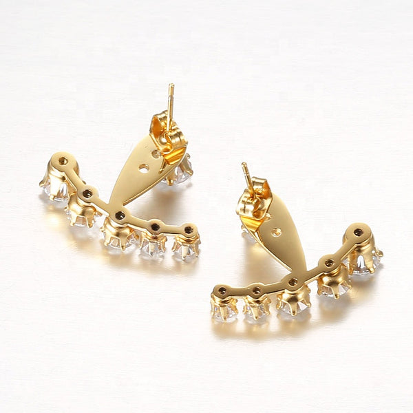 Joy Ear Jackets - Love Be Jewels