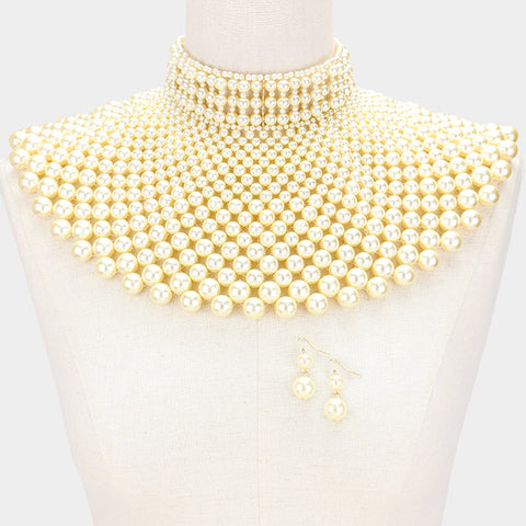 Regal Bib Necklace - Love Be Jewels