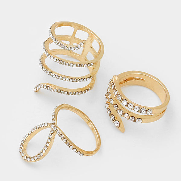 Angela Ring Set (G) - Love Be Jewels