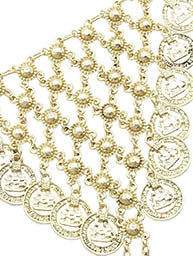 Coins Hand Chain - Love Be Jewels