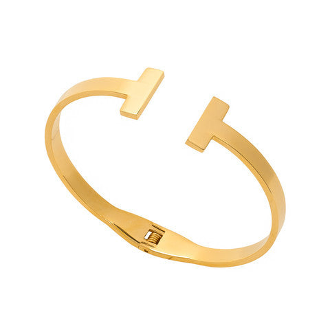Simone Bracelet Cuff - Love Be Jewels