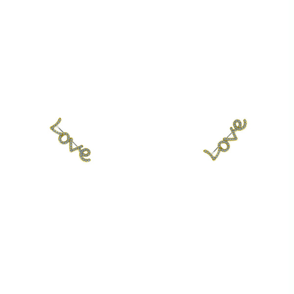 Love Ear Climbers - Love Be Jewels