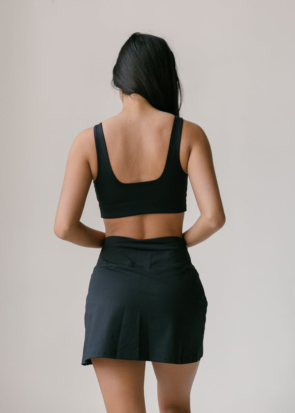 Girlfriend Collective Tommy Bra- Black