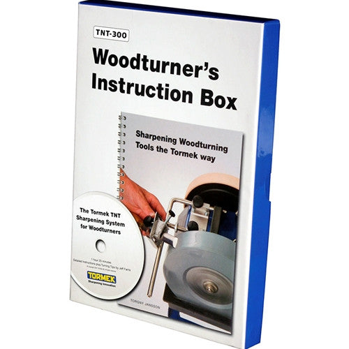Tormek TNT-300 Wood Turner's Instruction Box