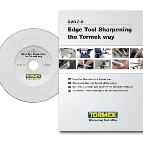 Tormek DVD-1: Edge Tool Sharpening the Tormek Way