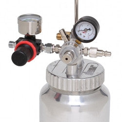 APOLLO 2 Qt. Pressure Pot with Single or Dual Regulator and Gauge