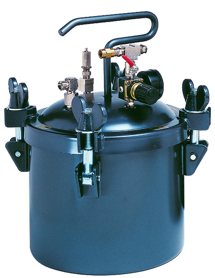 APOLLO 2.5 Gal. (10 L) Pressure Pot with Single or Dual Regulators