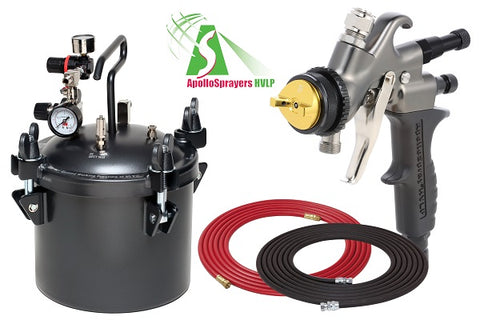 Apollo 2.5 Gal Combo Package w/Choice of Gun