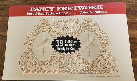 Fancy Fretwork Scroll Saw Pattern Book : Nelson, Stackpole