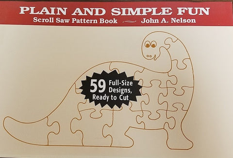 Plain and Simple Fun Scroll Saw Pattern Book : Nelson, Stackpole
