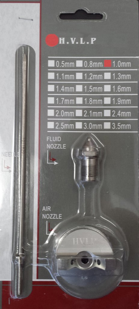 APOLLO E7000 Needle, Nozzle & Air Cap Sets