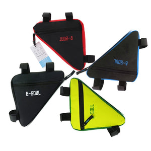Waterproof Triangle Bicycle Bag | Front Tube Frame Cycling Bag | Mountain Bike Pouch Saddle Bag
