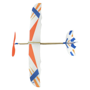 DIY Kids Rubber Band Powered Model Aircraft Foam Assembly Plane | Science Toys & Gifts for Children