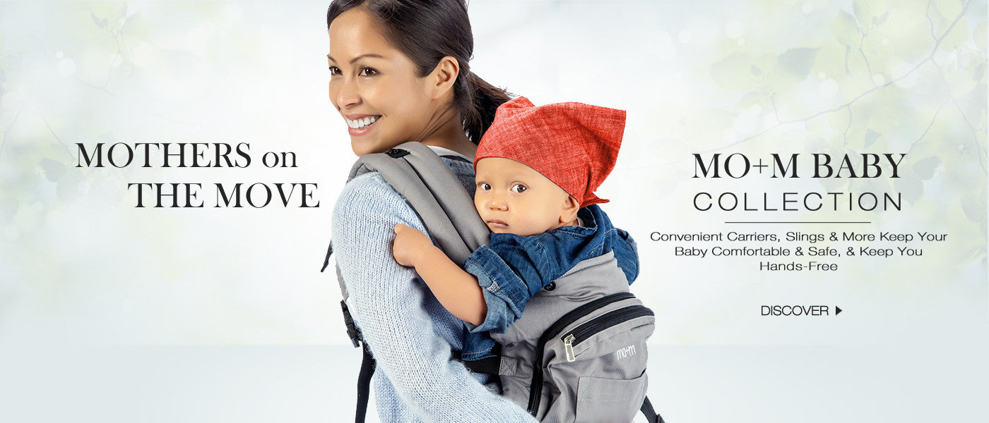 Mo+m Classic Cotton Baby Carrier Collection