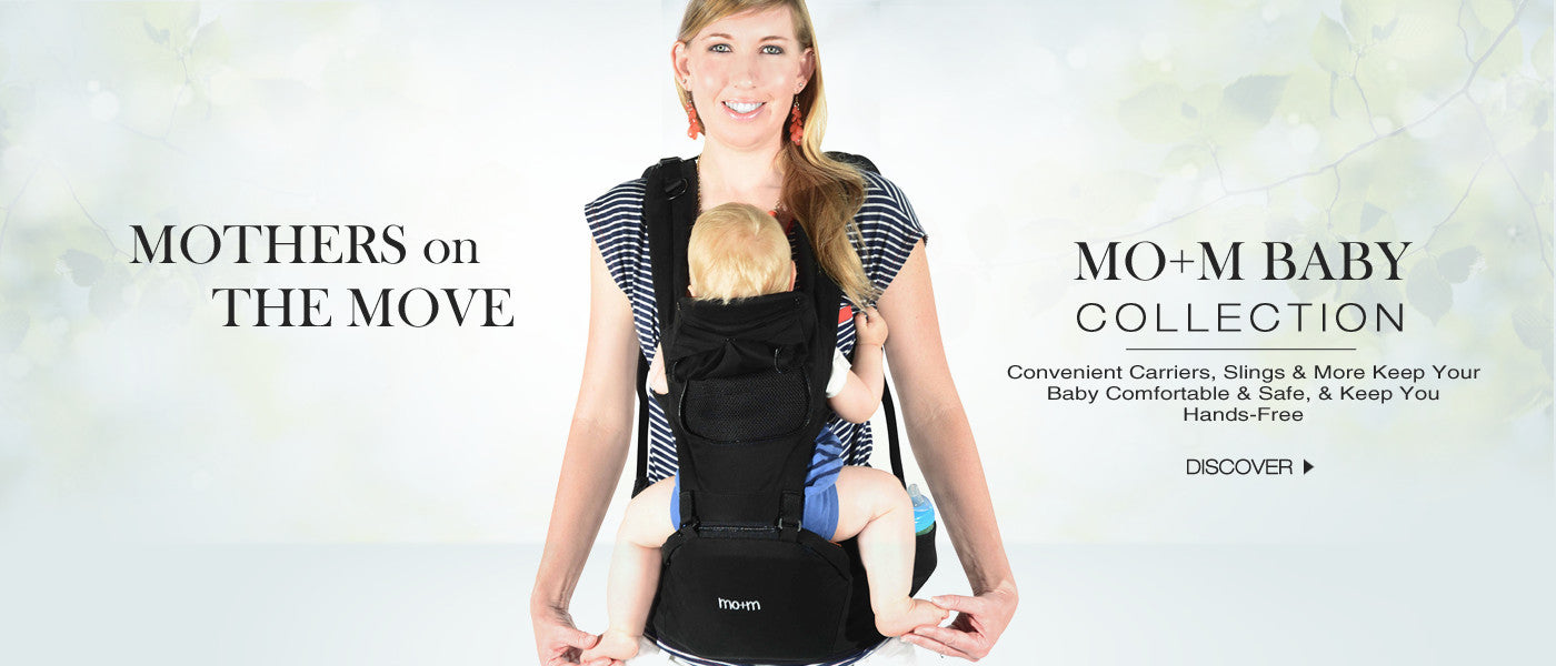 Mo+m Hipseat Baby Carrier