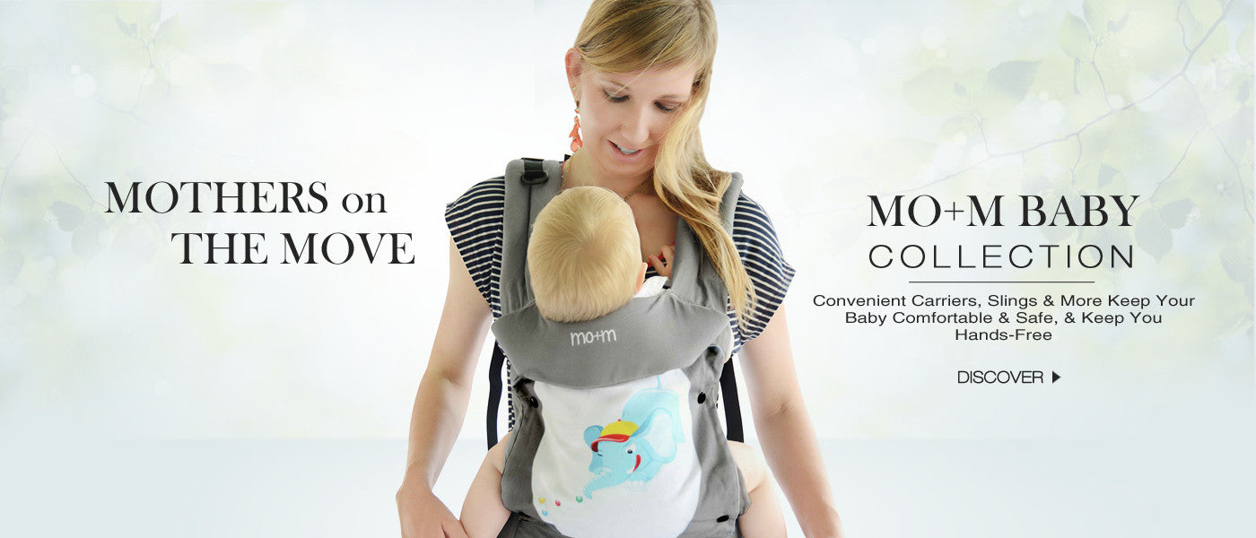 Mo+m Fashion Convertible Baby Carrier