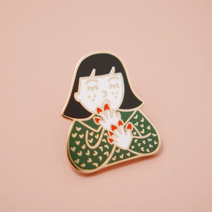 Raspberry Snack Pin