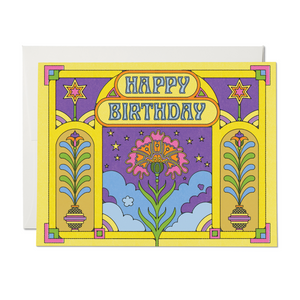 Happy Colors Birthday Card