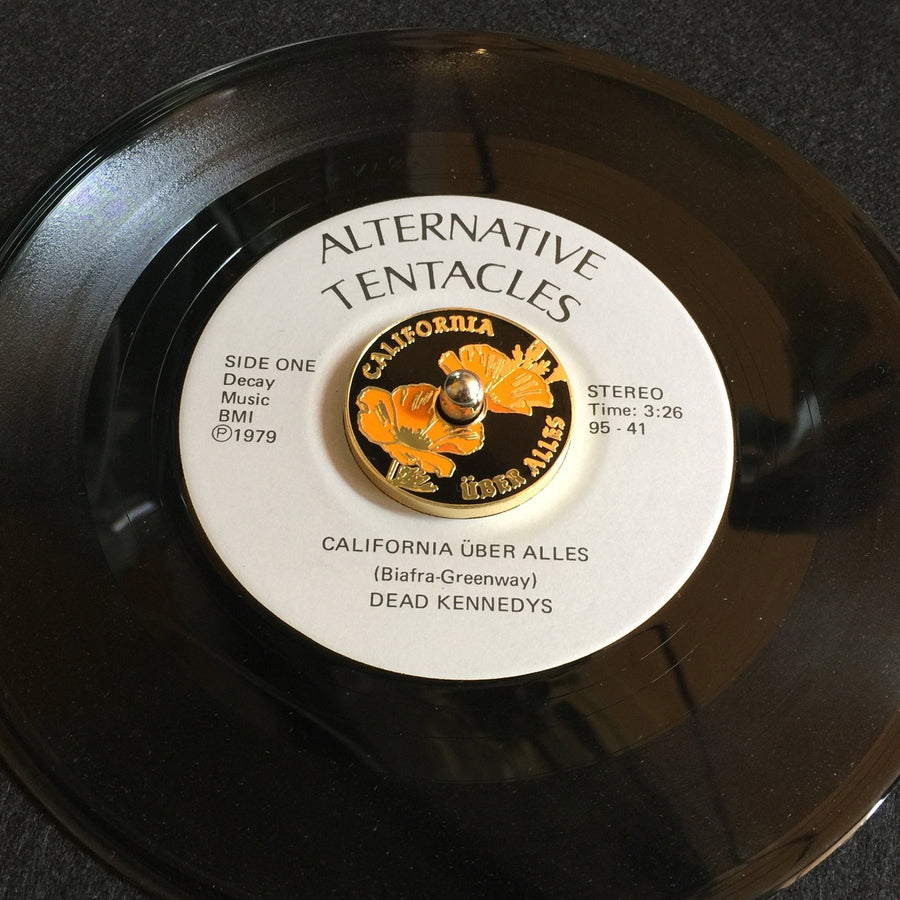 45rpm Seven Inch Adapter - California Uber Alles - World Famous Original