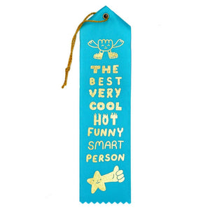 Best Very Cool Hot Funny Smart Person Ribbon