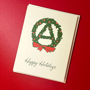 Anarchist Happy Holidays Cards