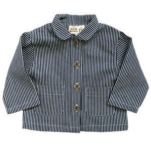 Kids Chore Coat - Railroad Stripe