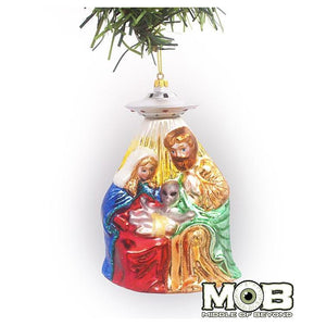 Alien Nativity Ornament - World Famous Original