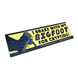 Bigfoot Bumper Sticker - World Famous Original