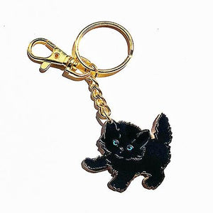 Black Kitty Keychain - World Famous Original