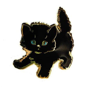 Black Kitty Pin - World Famous Original