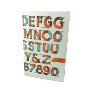 Block Lettering Zine - World Famous Original