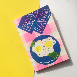 Boob Land Zine - World Famous Original