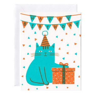 Cat Birthday Card - World Famous Original