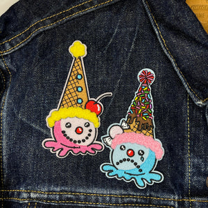 Sad Clown Cone Patch