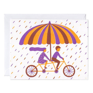 Couple Riding Card - World Famous Original