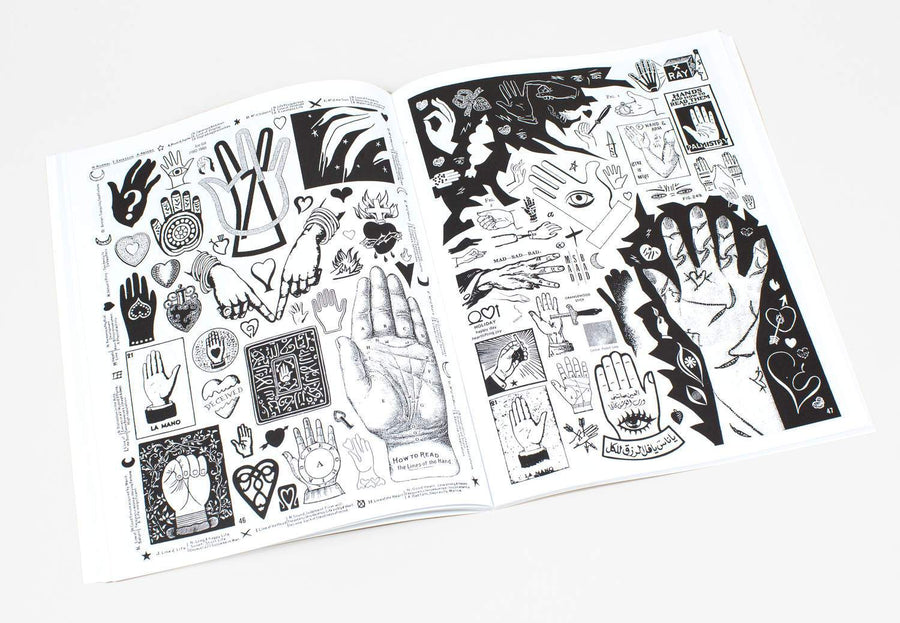 Crap Hound Volume 5 - Hands, Hearts & Eyes Zine - World Famous Original