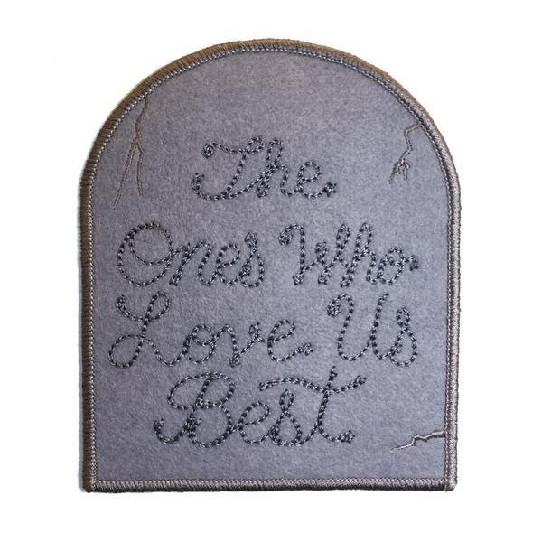 CUSTOM Gravestone Patch - World Famous Original