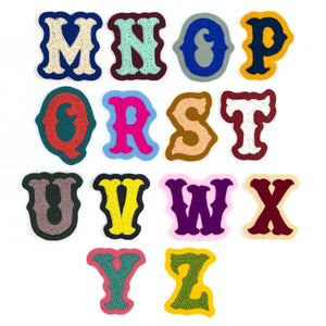 Custom Mini Chainstitch Letters - World Famous Original