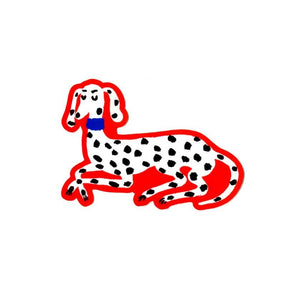 Dalmation Sticker - World Famous Original