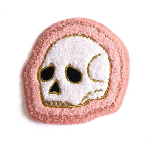 Deserted Skull Chenille Patch - World Famous Original