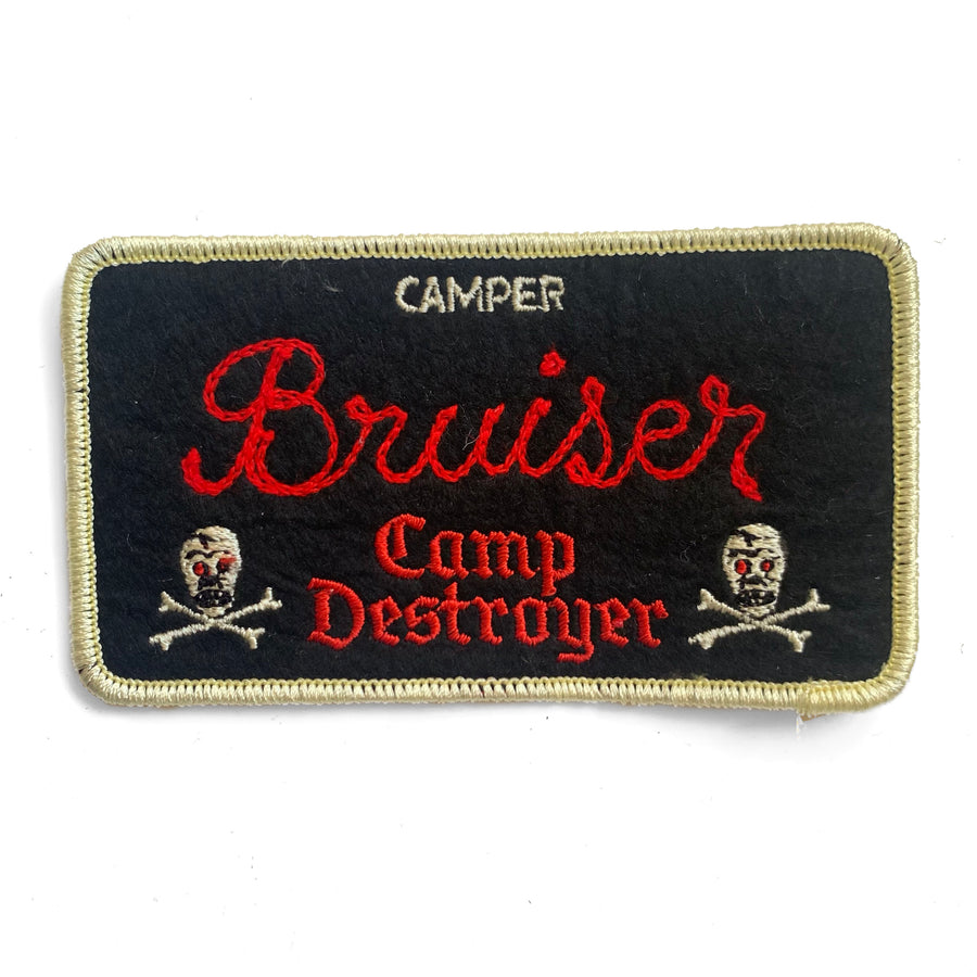 Camp Destroyer - Custom Camper Patch